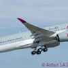 Thumbnail image for First A350-900 for Launch Customer Qatar Airways Makes Its Maiden Flight