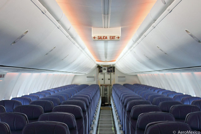 American airlines first class 738 for Aeromexico interior 737