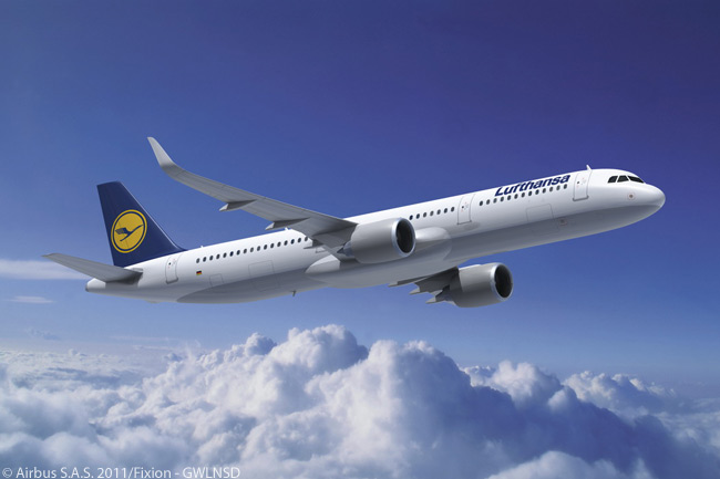 By March 14, 2013, Lufthansa Group had ordered a total of 532 Airbus jets, confirming it as the world's largest airline customer for Airbus aircraft. The March 14, 2013 order included 35 A321neos
