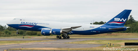 Post image for Silk Way Airlines Takes Delivery of Two Boeing 747-8 Freighters