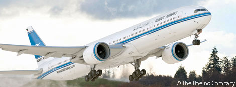 Post image for Kuwait Airways Finalizes Order for 10 Boeing 777-300ERs
